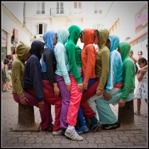 Bodies in Urban Spaces, Willi Domer