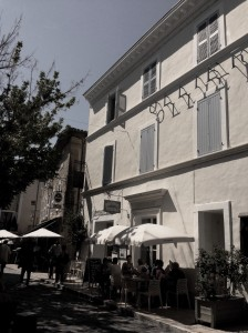 Hotel restaurant Ollier. Albert Camus.